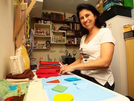 Fabiana Alonso - Pinhata - B2Mana Pulse no Jornal Tribuna