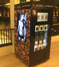 vending machine calvin klein