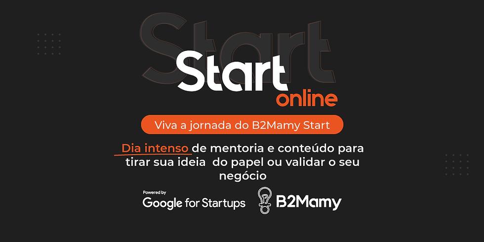 B2Mamy Start ONLINE powered Google for Startups - 52º Edição ONLINE