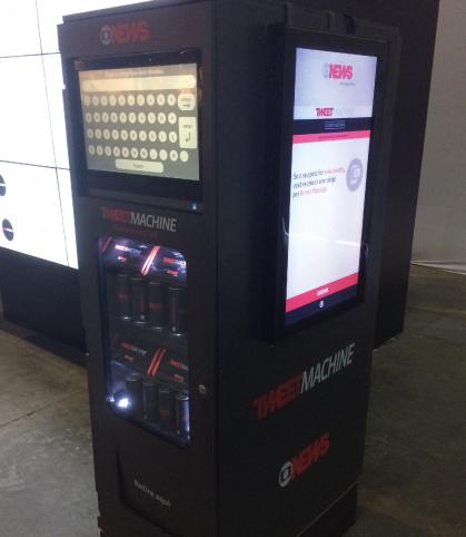 vending machine globo news