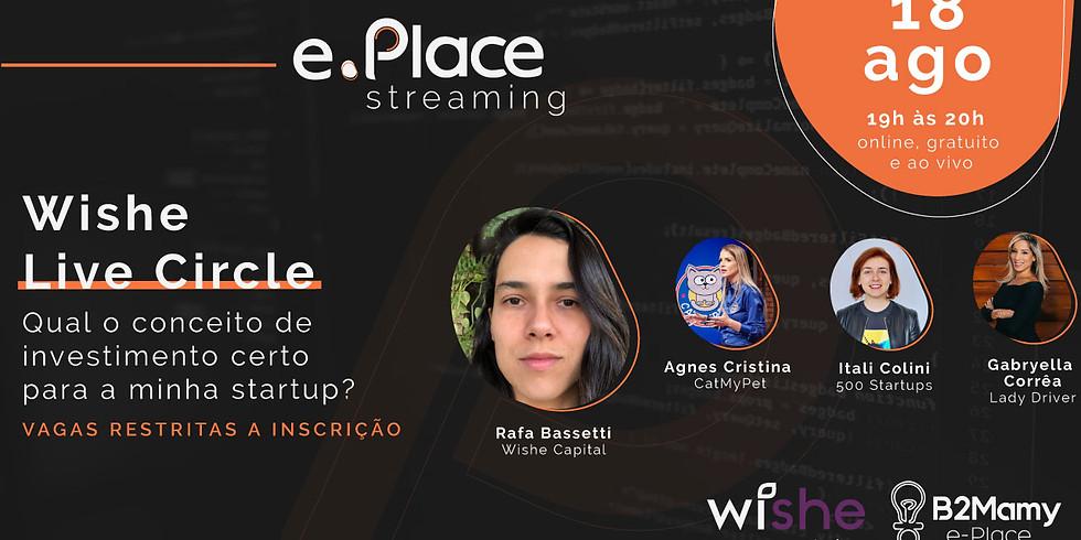Wishe Live Circle - Qual o conceito de investimento certo para a minha startup?