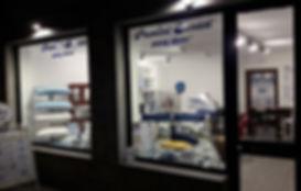Temporary shop Courmayeur