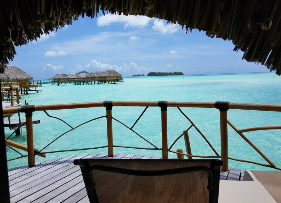 Tahiti Trip Planner | GeoLuxe | over water bungalow