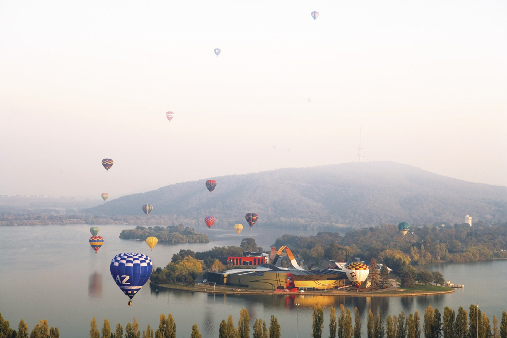 Custom Australia Vacation | GeoLuxe | hot air balloons