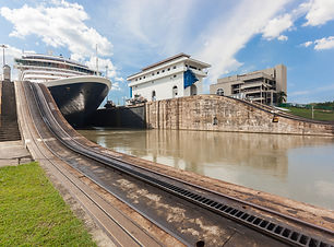 Cruise Trip Planner | GeoLuxe Travel | cruise ship on Panama Canal