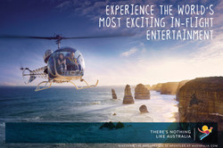 Custom Australia Vacation | GeoLuxe | helicopter ride over the ocean