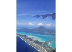 Tahiti Trip Planner | GeoLuxe | aerial view of island