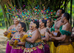 Fiji Trip Planner   GeoLuxe Travel   Fijian musicians
