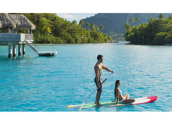 Tahiti Trip Planner | GeoLuxe | stand up paddle boarding