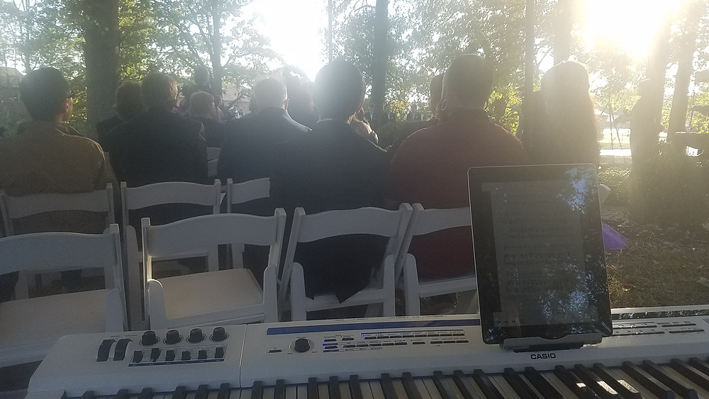 sunshine at a wedding at the mansion in ofallon.