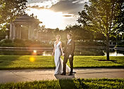 Lovely couple reviews pianist for their wedding at St Louis World's Fair Pavillion