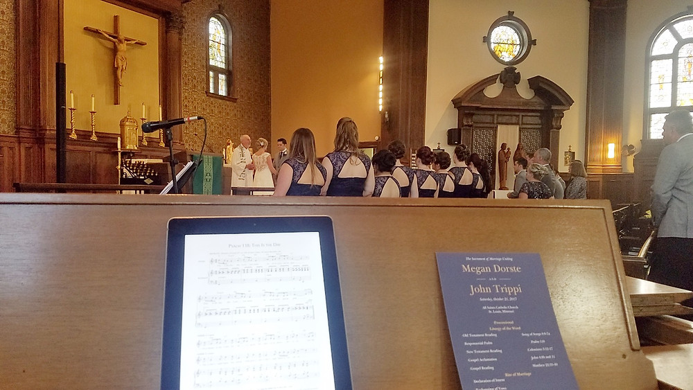 Wedding Pianist and Vocalist in St Louis University City