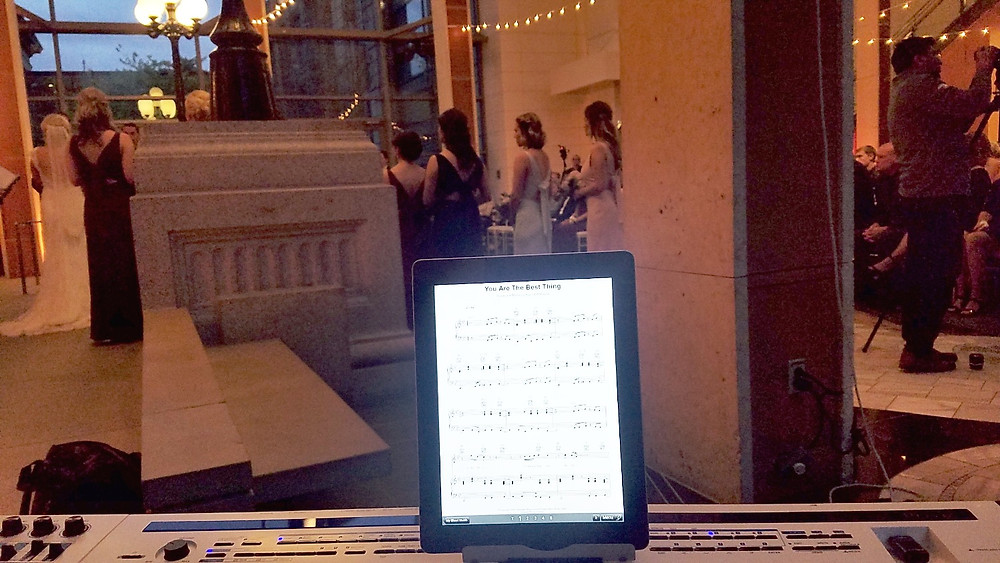 Pianist performing at Ceremony in St Louis - Wedding Music