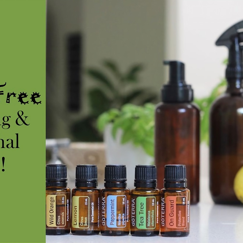 Toxin-Free Cleaning & Personal Care