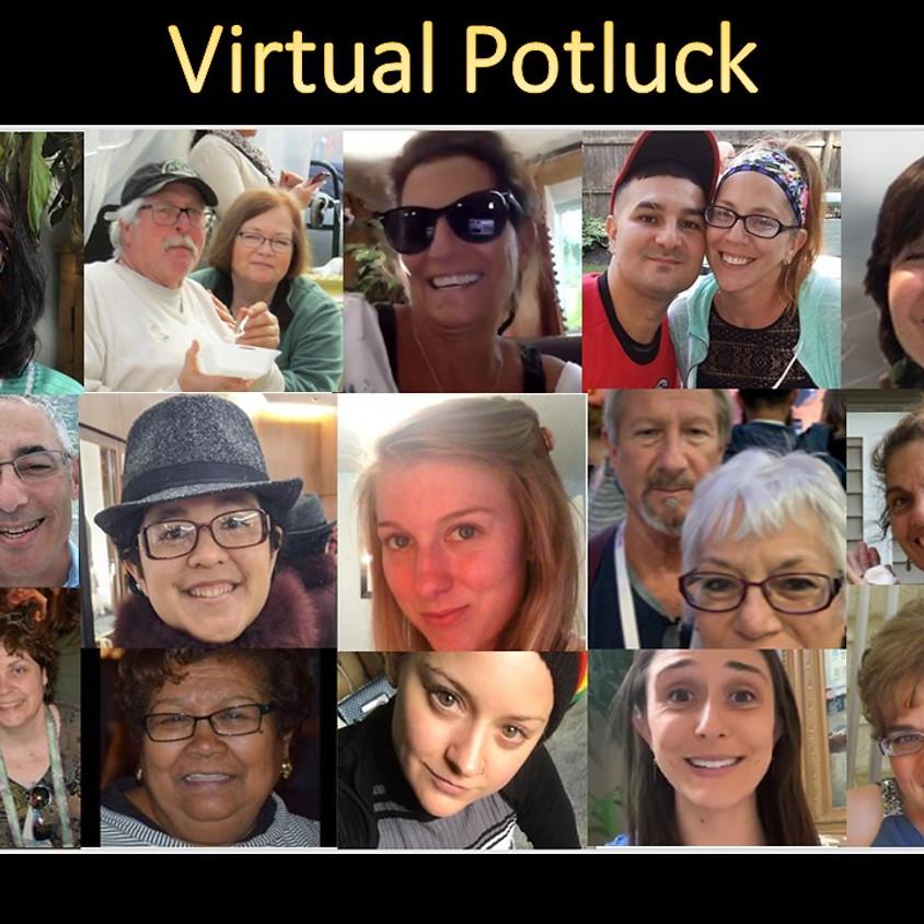 Virtual Potluck Tuesday, July 7th 7pm EST