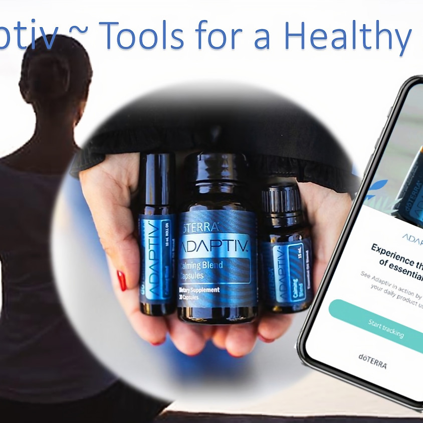 Adaptiv - Tools for a Healthy Mind  10:30 AM EST