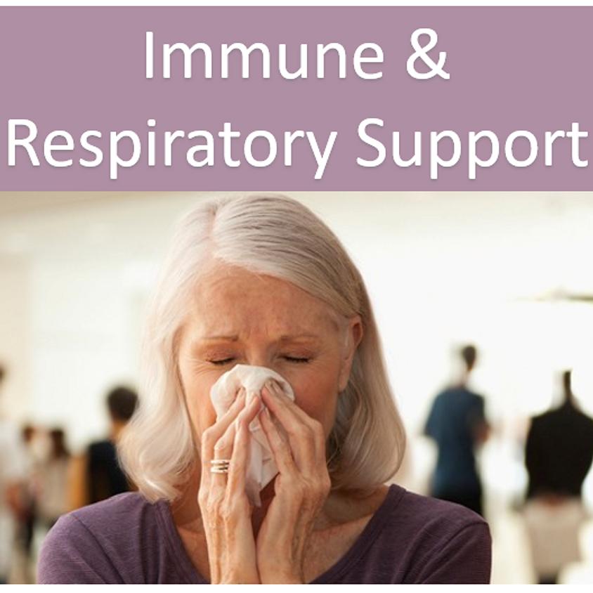 Immune & Respiratory Support