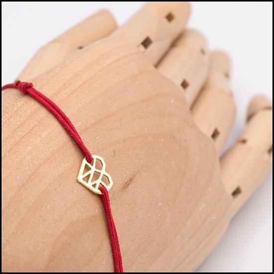 Bracelet Mini Coeur sur cordon