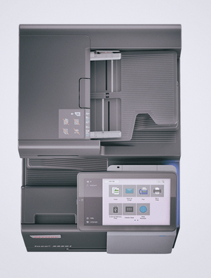 ineo+ 3350i Touch y Alimentador