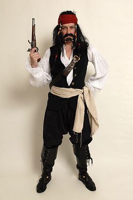 Pirate Captain Jack Sparrow - Maggie Bulman Costumes