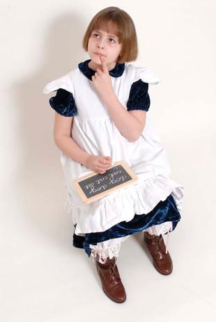 Victorian School Girl