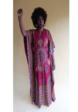 1970s Kaftan Black Power