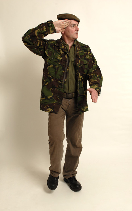 1940s Soldier - camouflage
