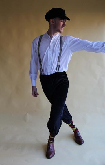 Swing dance - plus fours