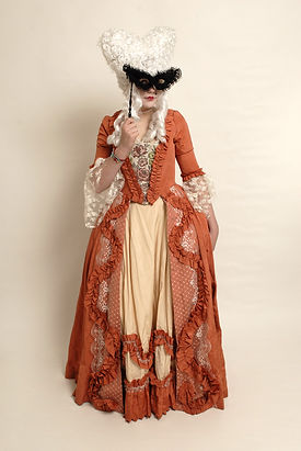 18th Century Georgian Dangerous Liaisons Queen Maggie Bulman Costumes