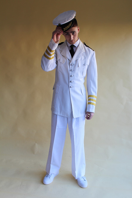 1940s Navy Officer