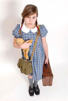 WWII Evacuee 1940s Maggie Bulman Kids Costumes