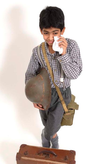 Evacuee Boy
