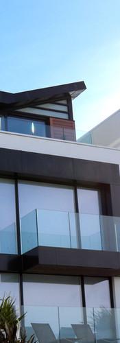 Fasade og rekkverk