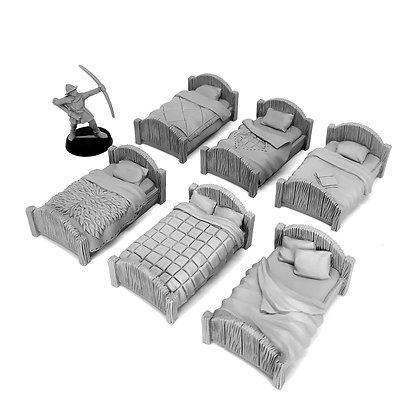 Шесть кроватей