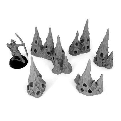 Hollow Stalagmites