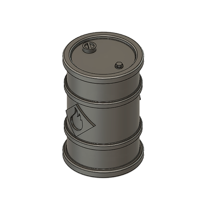 Gasoline Barrel