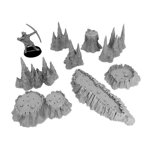 Cave set: Volcanoes and Stalagmites