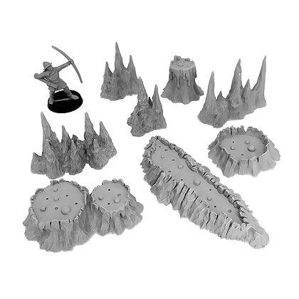 Вулканы и Сталагмиты