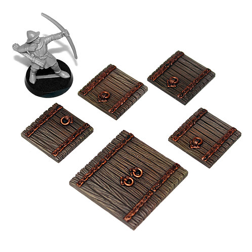 PAINTED Wooden Trapdoors