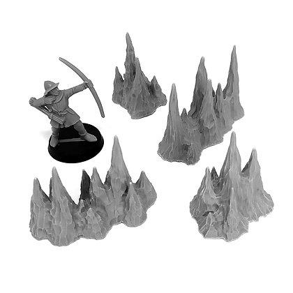 Cave Set: Stalagmites