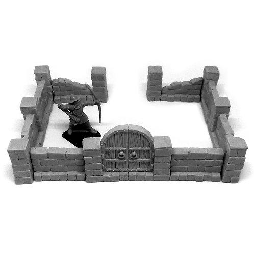 Modular Stone Wall
