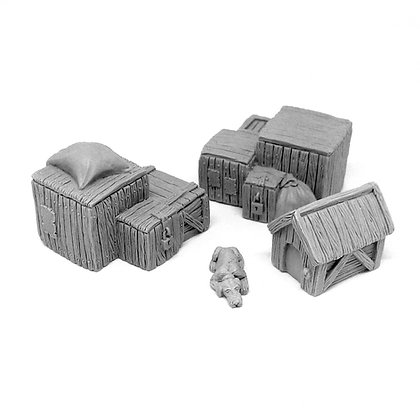 Crates, Dog and Kennel set