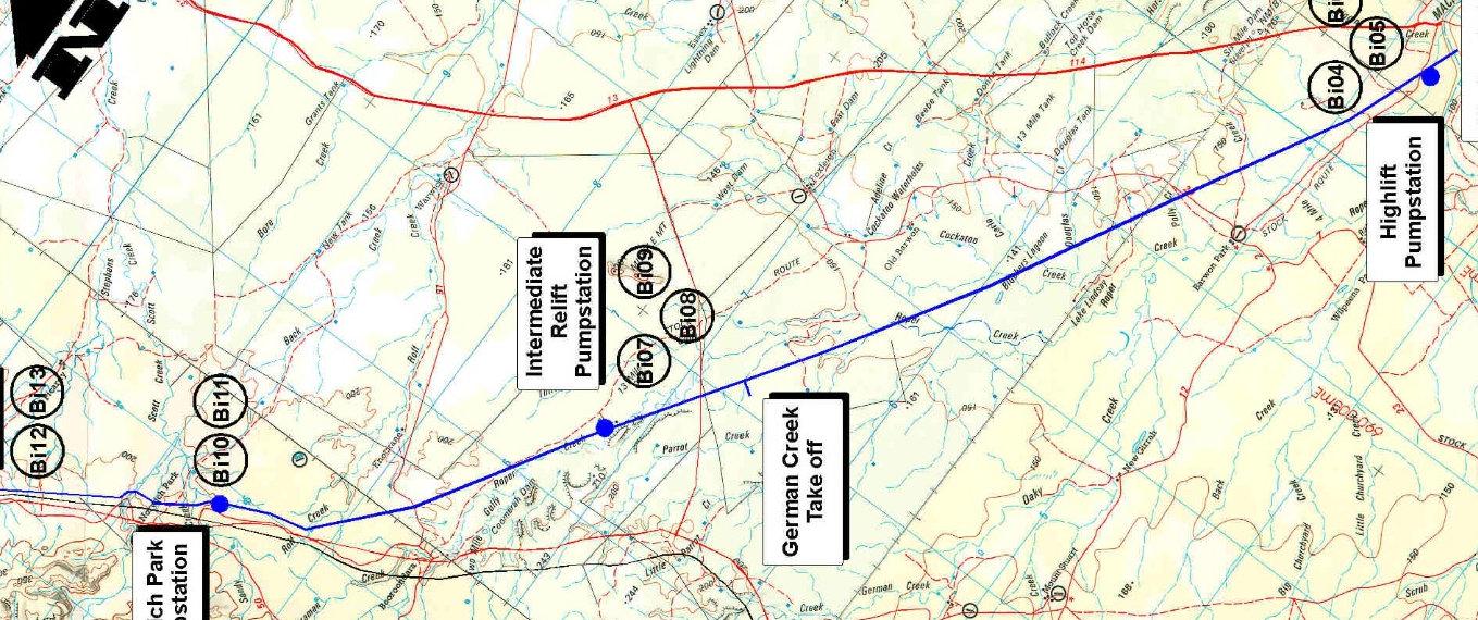 pipeline planning desktop study
