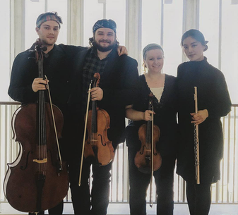 After a performance of Mozart's Flute Quartet in D Major at The Oberlin Conservatory, Fall 2018