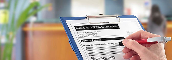 New Patient Forms at Horne Chiropractic Center