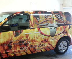 Kinder's Catering Vehicle