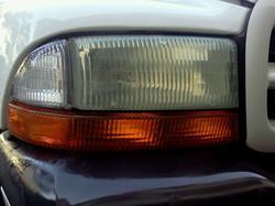 Headlight Restoration - Before
