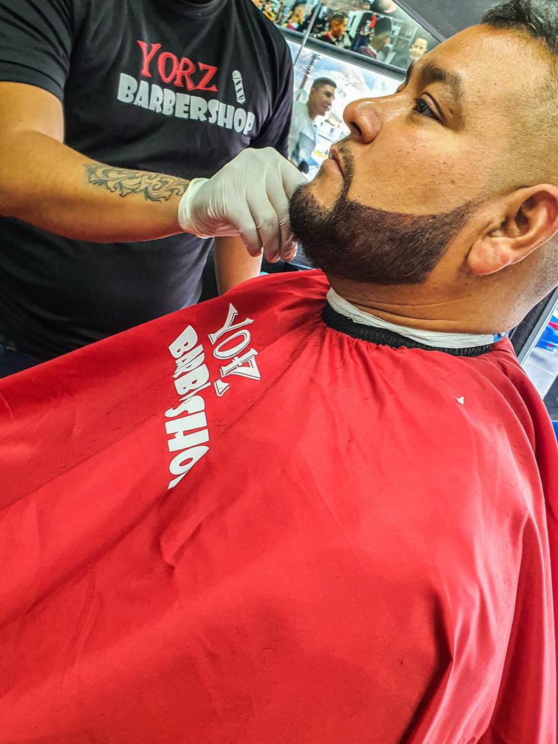 Arreglo de barba y pigmentacion
