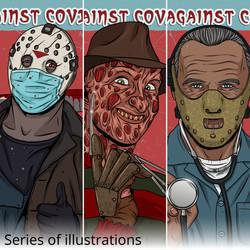 Villains against COVID-19
