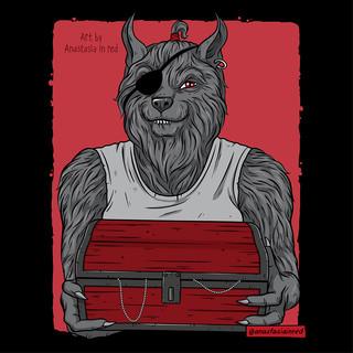 Werewolf Pirate